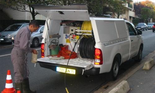 Nettoyage vide-ordures