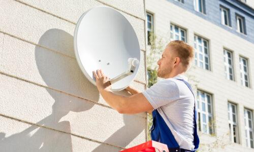 Réparation antennes satellite ou terrestre