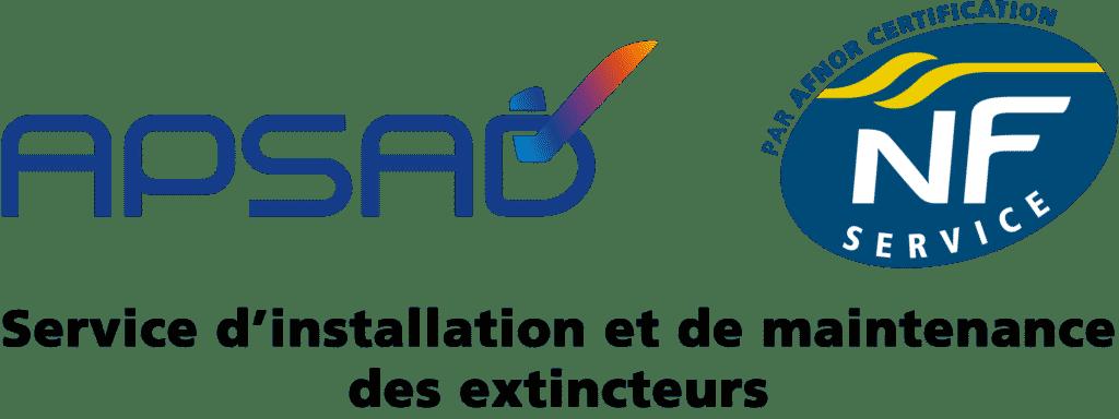 Logo APSAD-NF Service