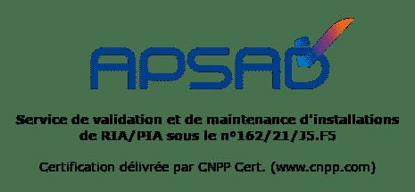 Logo APSAD RIA
